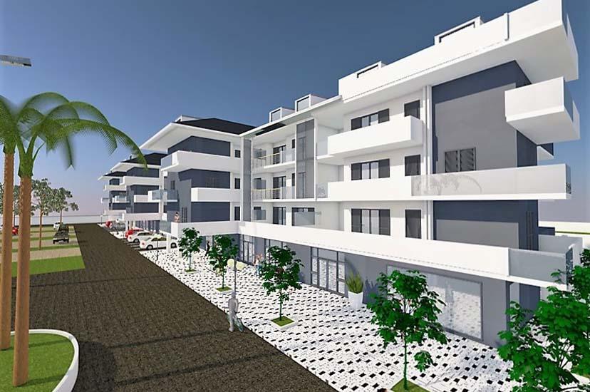 Vendita di appartamenti e uffici di nuova costruzione - Progetti e costruzioni porte ...